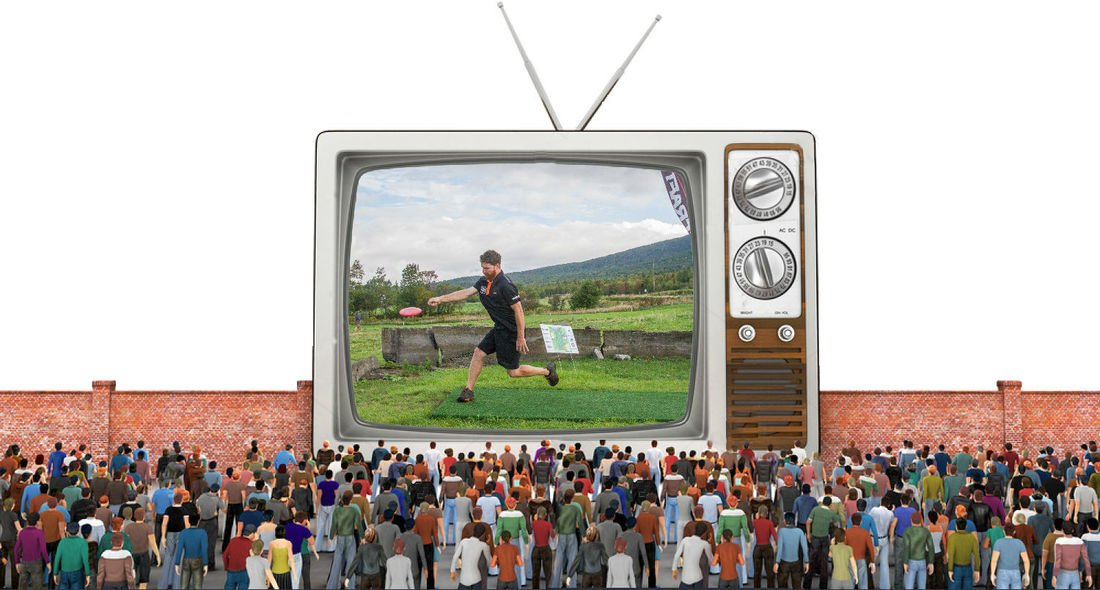 Disc Golf on TV