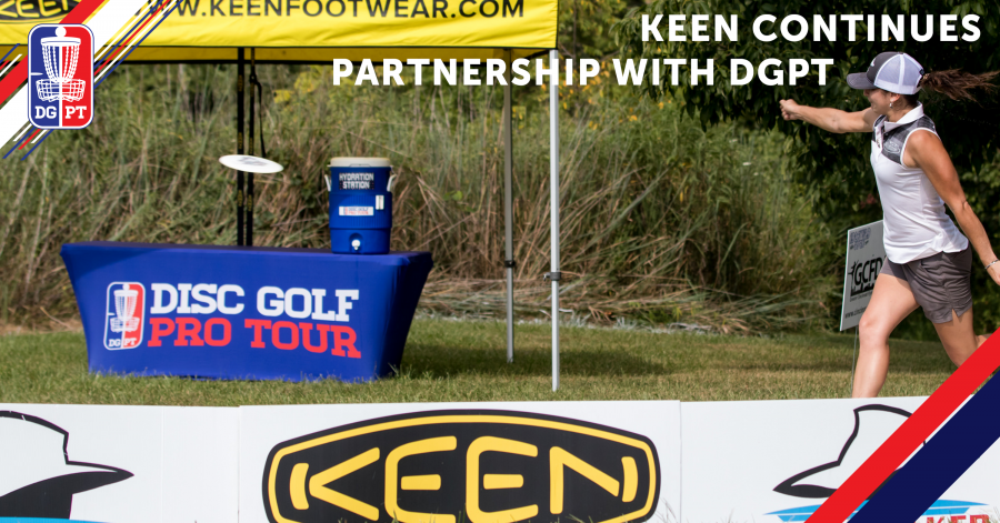 KEEN continues partnership with Disc Golf Pro Tour as Official Footwear of the Pro Tour