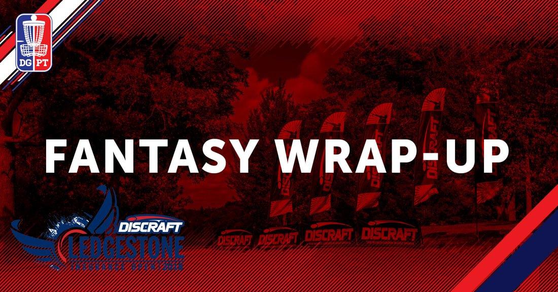 2018 Ledgestone Open: Fantasy Wrap-Up