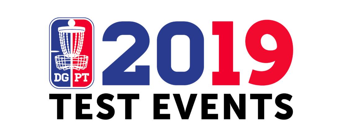 2019 Disc Golf pro tour test events