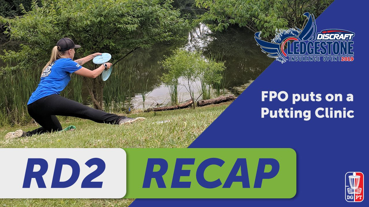 FPO R2: DISCRAFT'S LEDGESTONE INSURANCE OPEN: Putting clinic activate
