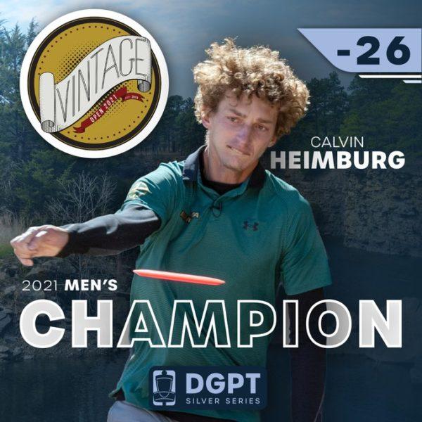 Calvin Heimburg 2021 Vintage Open